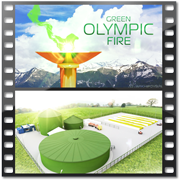 Видео презентация video presentation presentation olympic flame of Sochi 2012th biogas olympic games